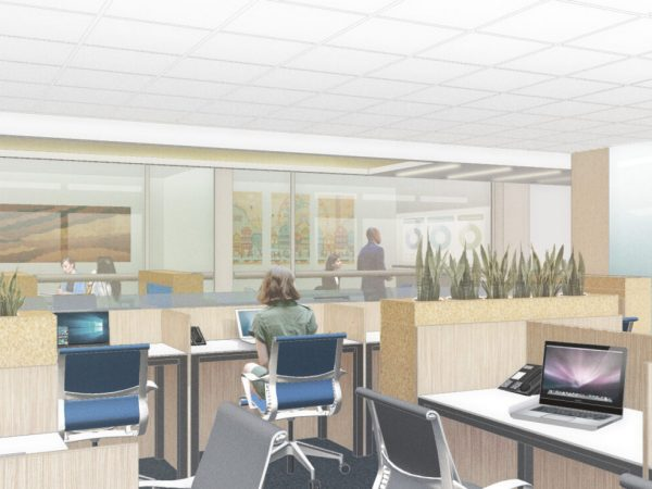 Tech Company Office Area
